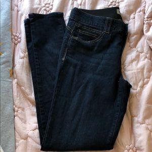 Dark stretch skinny jeans